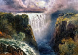 Edward Henry Holder - A View of Victoria Falls