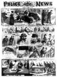 English School - Incidents Relating to the East End Murders, from 'The Illustrated Police News', 20th October 1888