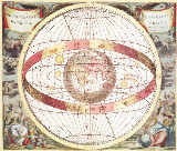 Andreas nach Cellarius - Planisphere, from 'Atlas Coelestis', engraved by Pieter Schenk (1660-1719) and Gerard Valk (1651-1726)