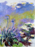 The Agapanthus von Claude Monet