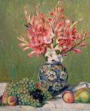 Pierre Auguste Renoir - Still life of Fruits and Flowers, 1889