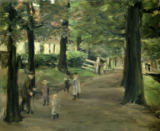 The Avenue von Max Liebermann