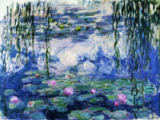 Waterlilies, 1916-19 von Claude Monet