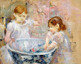 Berthe Morisot - Children at the Basin, 1886