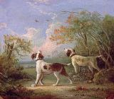 Thomas Hand - Spaniels in a landscape