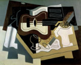 Juan Gris - Guitar and Clarinet, 1920