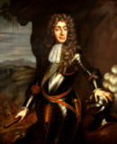English School - Portrait of James II (1633-1701) in armour