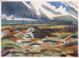 Paul Nash - Ruined Country, Vimy, from British Artists at the Front, Continuation of The Western Front, Part Three, Paul Nash, 1918