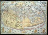 Ptolemy - Map of the world, based on descriptions and co-ordinates given in 'Geographia', first published in Ulm, Germany