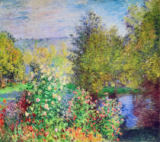 Claude Monet - A Corner of the Garden at Montgeron, 1876-7