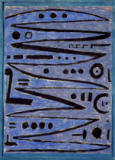 Paul Klee - Heroic Strokes of the Bow, 1938
