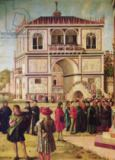 Vittore Carpaccio - Detail of Detail of the Return of the English Ambassadors, from the St. Ursula Cycle, c.1490-96
