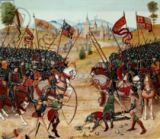 Unbekannt - Fr 2643 f.312v Battle of Najera, 1367