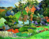 Landscape at Pont Aven, 1888 of Paul Gauguin