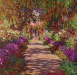 A Pathway in Monet's Garden, Giverny, 1902 of Claude Monet