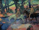 Paul Gauguin - The Escape, The Ford, 1901