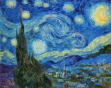 The Starry Night, June 1889 of Vincent van Gogh