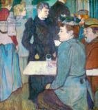 Henri de Toulouse-Lautrec - A Corner of the Moulin de la Galette, 1892