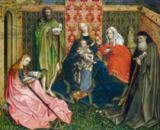 Master of Flemalle - Madonna and Child with Saints in the Enclosed Garden, c. 1440- 60