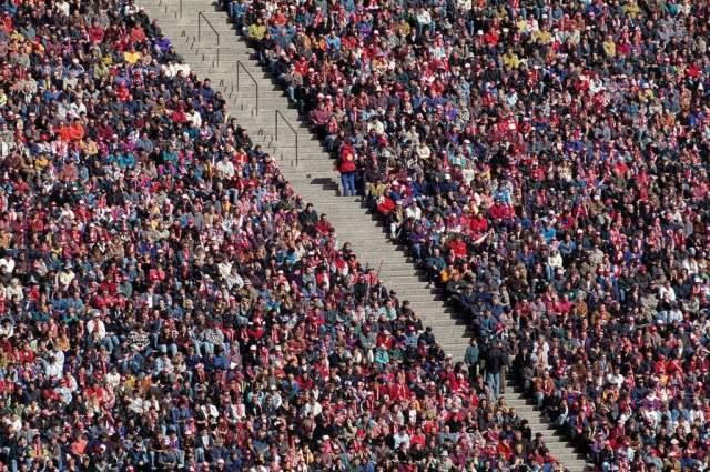 Photo Print Fussballstadion Fans Tribune By Prisma F1 Online On Glossy Normal