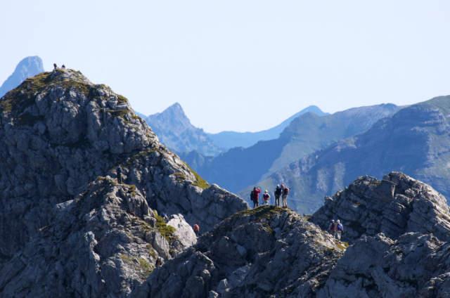 Klettersteig Nebelhorn : Parasola hindelanger klettersteig nebelhorn allgaeu alpsu kunstdruck