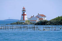 All Canada Photos (F1 Online) - Ost-Quoddy Lighthouse, Östlich Quoddy, Campobello-Insel