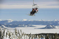 All Canada Photos (F1 Online) - Monashee-Berge, Inneres british columbia, Chairl ift, Vernon