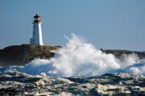 All Canada Photos (F1 Online) - Thomas Kitchin & Victoria Hurst, Peggys Cove, Peggys Bucht