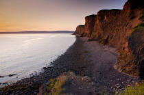 All Canada Photos (F1 Online) - Fundy Shore Ecotour, Minas Channel, Glooscap Trail, Sonnenuntergang-Bilder