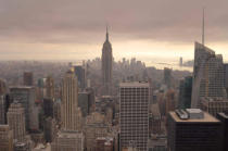 First Light (F1 Online) - New York skyline as seen from the Top of the Rock, New York City, New York