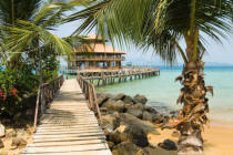 Norbert Hohn  (F1 Online) - Pier on the island Koh Wai, Thailand