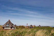 Beate Zoellner (F1 Online) - Holiday homes in dunes, Hoernum, Sylt, Germany