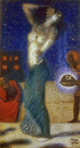 Salome Franz von Stuck Kunstkarte