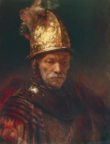 Rembrandt Der Mann Mit Dem Goldhelm Kunstdruck Leinwandbild