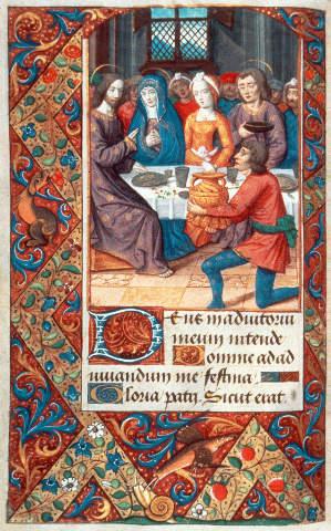 Buchmalerei Franzosisch Hochzeit Zu Kana Jean Poyet Kunstdruck