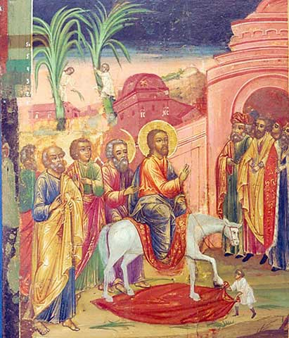 In jesus jerusalem einzug Jesus in
