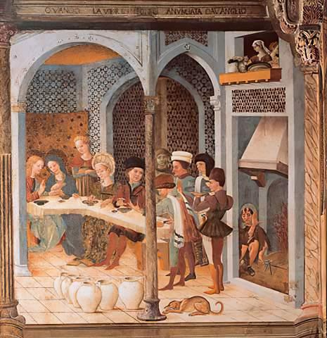 15 Jahrhundert Die Hochzeit Zu Kana Kunstdruck Leinwandbild