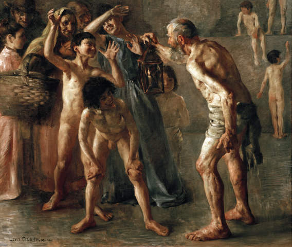 Fine Art Reproduction Diogenes Seeks An Honest Man With His Lamp During Broad Daylight By Lovis Corinth On Kunstdruckpapier