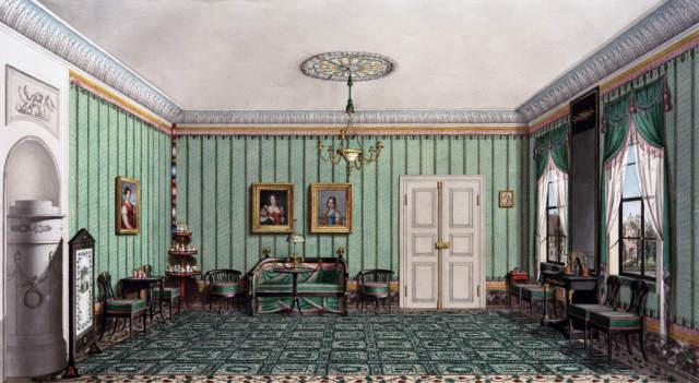 Kunstdruck Teppichzimmer Im Burglass Schlosschen Zu Coburg Von Heinrich Kruppel Der Jungere Auf Kunstdruckpapier