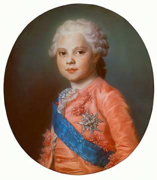 Maurice Quentin de La Tour - Louis XVI, King o.France / La Tour ...