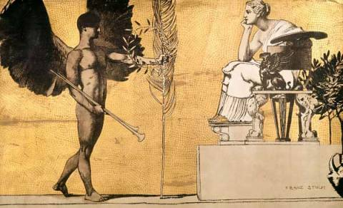Fine Art Reproduction: Franz von Stuck, Allegory of Painting