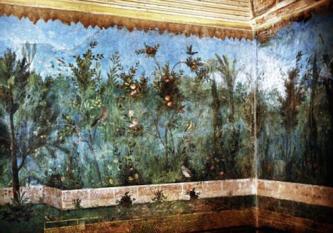 AKG Anonymous: Garden / Fresco from the Villa Livia. Art