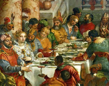 Paolo Veronese Hochzeit Zu Kana Kunstdruck Leinwandbild