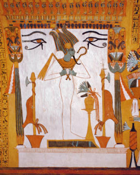 Fine Art Reproduction, individual art card: AKG Anonymous, Osiris / Egypt.Wall Paint./ C14th BC
