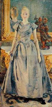 Fine Art Reproduction: Theodore van Rysselberghe, Alice Sethe