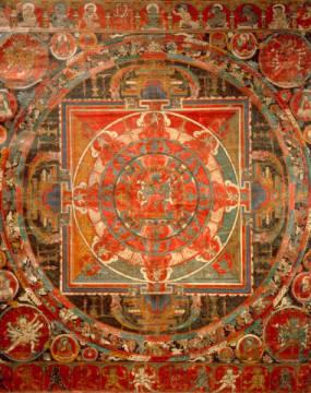 AKG Anonymous: Tibetan Thangka Bodhisattva / 17th. Art