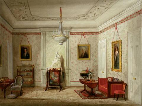 Rothbart palais friedrichsthal k nigin victorias for Kunstdruck wohnzimmer