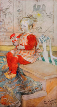 Fine Art Reproduction, individual art card: Carl Larsson, Lisbeth