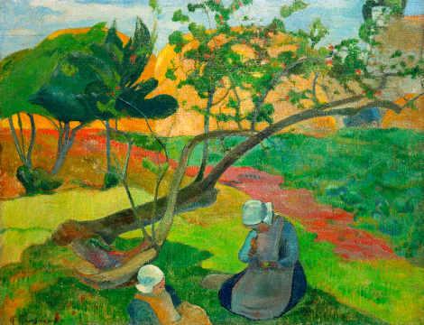 Teichufer von Paul Gauguin als Kunstdruck kaufen (#24906)