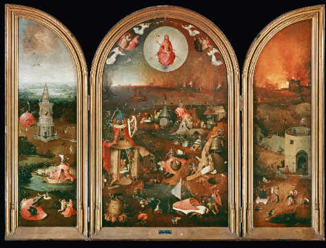 Fine Art Reproduction, individual art card: Hieronymus Bosch, Hell